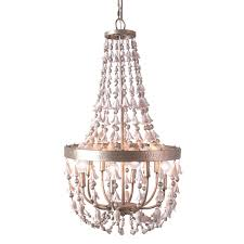 Weiss Biheller Lighting Bliss Studio Flora Champagne Small Chandelier Laylagrayce