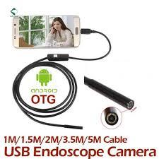 U-Kiss 2M 6 LED <b>USB</b> Waterproof Endoscope Borescope <b>Snake</b> ...
