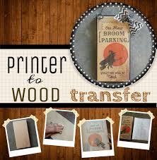 How To Put Designs On Wood Image Transfer To Wood 10 Steps With Pictures