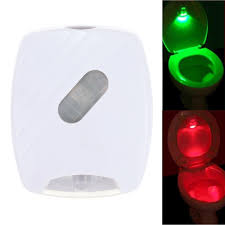 Red Light Night Lamp Human Body Motion Sensor Led Toilet Night Lamp Pir Light