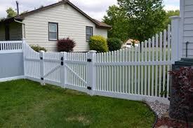 black vinyl privacy fence. Fence, Smart Vinyl Privacy Fence Lovely Black Picket Awesome Pvc New H
