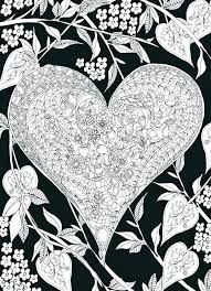 heart design coloring pages. Beautiful Coloring Heart Design Coloring Pages Pattern Very Detailed Free Hard Doodle Of For  Adults Quilt Love A