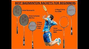 Best Badminton Racket For 2018