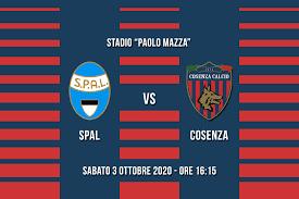 Cosenza Calcio - ⚽ MATCH DAY 🐺 🆚 SPAL 🏆 Lega B 🏟️