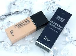 dior diorskin forever undercover foundation review and swatches