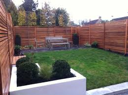 Small Picture Case Study Western Red Cedar Slatted Screens create a modern
