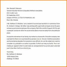 Academic Appeal Letter Extraordinary 44 Appeal Letter To Financial Aid Appeal Letter