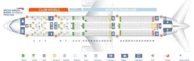 Aeroflot Boeing 777 300er Seating Chart British Airways Fleet Boeing 777 200 Er Details And Pictures