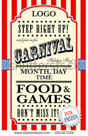 Free Carnival Poster Template Carnival Flyer Templates Cti Advertising