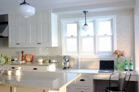 white brown colors kitchen breakfast. Kitchen, Subway Tile Colors Small Rectangle Brown Breakfast Bar Table Best Galley Ideas Stainless Steel White Kitchen O