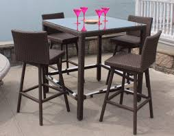 bar table and chairs. Image Of: Patio Bar Table Chairs And