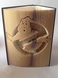 no ghosts cut fold book folding pattern