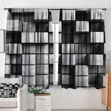 Curtain Rods Modern Design Amazon Com Sanring Modern Curtain Rods Geometric Modern