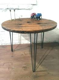 metal wood table restoration hardware round coffee medium size of how to make wooden diy dining