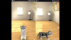 3D Cute Cat Live Wallpaper App 2018 ...