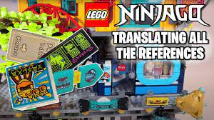 Translating the References in LEGO Ninjago City Gardens - YouTube