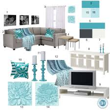 Teal Color Schemes For Living Rooms Beautiful Teal Living Room Decor Homesfeed