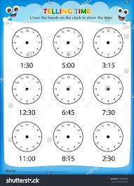 Telling Time Worksheets - Switchconf