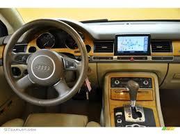 2004 Audi A8 L 4.2 quattro Beige Dashboard Photo #39408405 ...