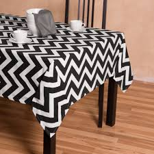 black and white tablecloth design inspiration round cotton black white tablecloth
