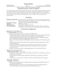 Senior Business Analyst Resume Berathen Com