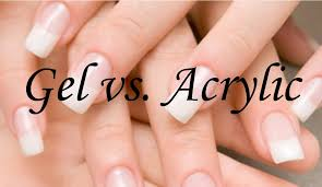 gel nails vs acrylic nails difference