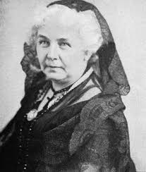 Elizabeth Cady Stanton Quotes Cool For Suffragette Elizabeth Cady Stanton All Women Were Not Created