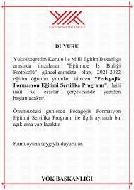 Yükseköğretim Kurulu (@YuksekogretimK) | T