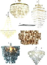 capiz shell drum chandelier home inspirations cool honeycomb chandelier lily inside endearing chandelier