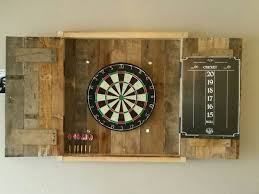 how to make a dartboard cabinet using pallets diy projects for