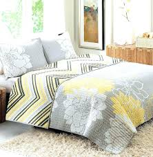gray quilt bedding gray and yellow comforter gray white and yellow crib bedding yellow and gray quilt from