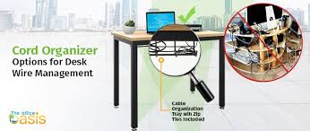 office desk cable management. Cord Organizer Office Desk Cable Management