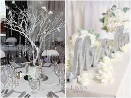 26 practical silver wedding décor ideas