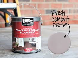 painted concrete patio how to paint a concrete patio floor thhouseontheleftcom