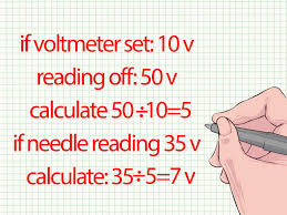 how to use a voltmeter 12 steps pictures wikihow