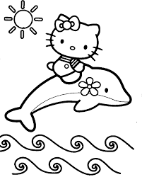 Small Picture Cute Dolphin Coloring Pages Coloring Home