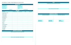 Printable Performance Review Examples Employee Assessment Sheet ...