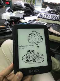 Thay pin máy đọc sách Bibox