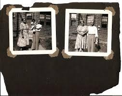 Vintage Photo Album Page Vintage Photos On Original Album Page African American Interest Black Americana Photo Collection Black Family