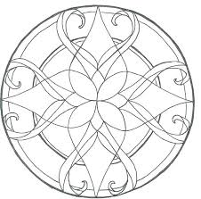 Free Stained Glass Coloring Pages For Kids Spring Religious Mebelmag