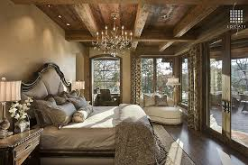 Rustic Bedroom by Locati Architects, photographed by Roger Wade Studio via:  www.locatiarchitects
