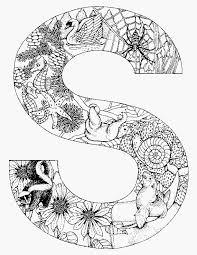 Kleurplaten Mandala Moeilijk Model Volwassen Kleurplaat Alfabet