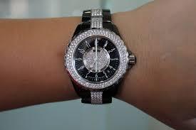 chanel j12 black ceramic diamond watch chanel j12 ceramic diamond watch