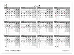 Giorni 2019 Calendario Ikbenalles
