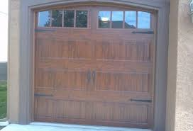 Clopay Gallery Collection Single Garage Door with Windows an Arched