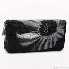 wallets business card holders handmade livemaster handmade wallet made of stingray