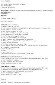 cover letter for i 130 form intended for green card application cover letter
