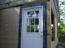 exterior door installation flashing. leaking door and sill pan-janet-morgan-siding-1-002. exterior installation flashing t