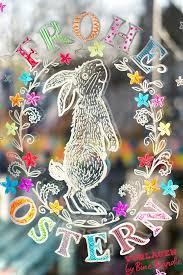 Wunderschöne schmetterling vorlagen zum ausdrucken. Frohe Ostern Susser Osterhase Am Fenster Eine Ganz Einfach Gemachte Fantastische Fensterdeko Im Fru Frohe Ostern Fensterbilder Weihnachten Fensterbild Ostern