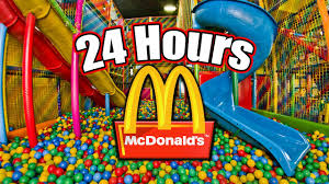mcdonalds play place ball pit. Plain Ball 24 HOUR OVERNIGHT In MCDONALDS PLAYPLACE  LOCKED IN A PLAY PLACE  For Mcdonalds Play Place Ball Pit